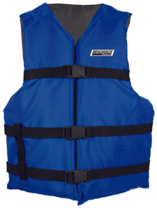 Freedom Boat Club Seachoice Type III General Purpose Vest Blue