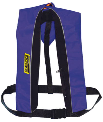 Freedom Boat Club Seachoice Type V Inflatable PFD 33G Manual/Auto Blue