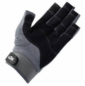 Gill Deckhand Gloves Short Finger Grey