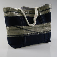 Load image into Gallery viewer, Sail Resale Large Tech Blue Stripe 2 Heritage Carryall