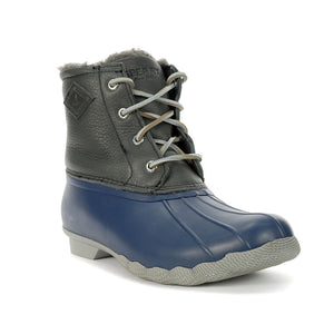 Sperry Women's Saltwater Winter Luxe Duck Boot Grey