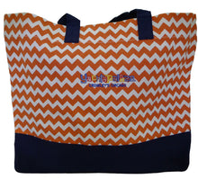Load image into Gallery viewer, Yachtapalooza 29L Beach Tote Coral/Navy