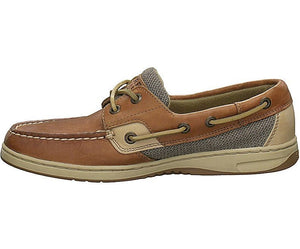 Sperry Women's Bluefish 2-Eye Boat Shoe Linen Oat