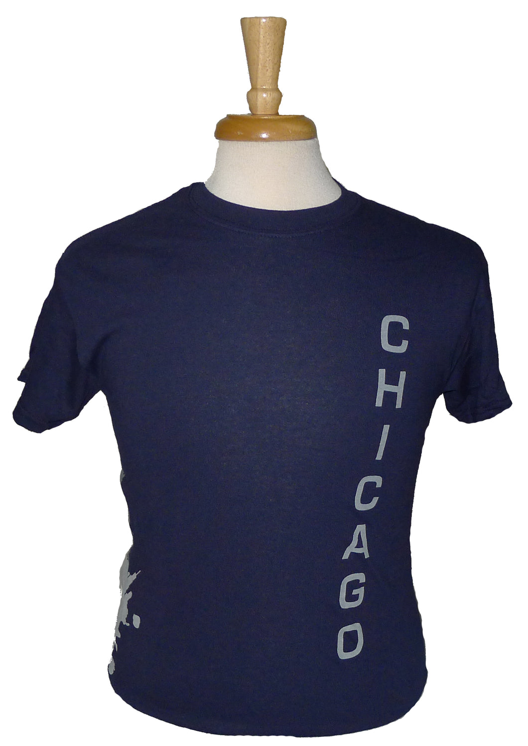 Gildan Chicago Matchcup Race T Shirt Navy