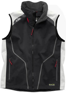 Gill Softshell Race Vest Graphite