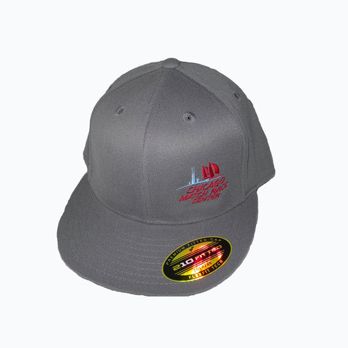 Flexfit Chicago Match Race Center Cap Dark Grey