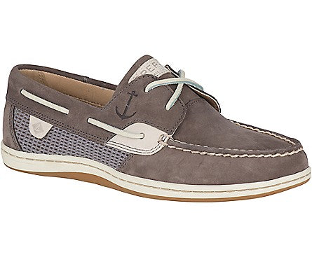 Sperry Women's Koifish Mesh Boat Shoe Grey