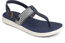 Load image into Gallery viewer, Sperry Women's Adriatic Sling Sandal Navy