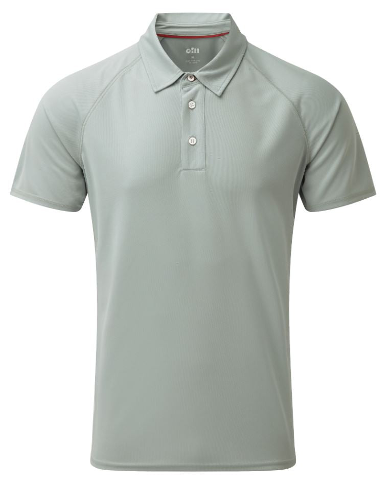 Gill Men's UV Tec Polo Grey