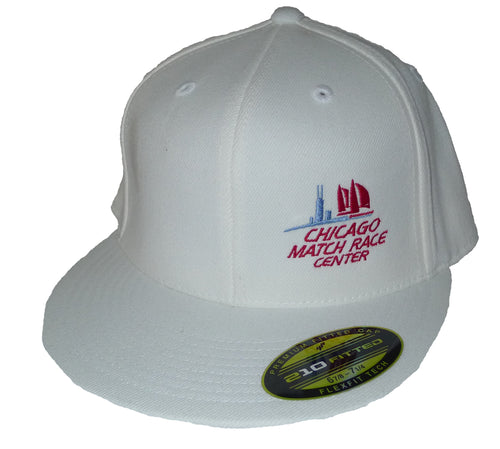 Flexfit Chicago Match Race Center Cap White