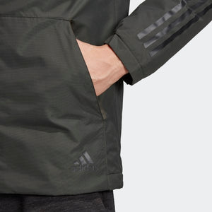 Adidas X-Ploric 3 Stripe Jacket Green