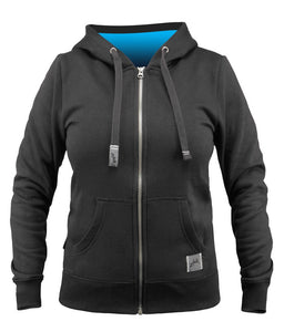 Zhik Women's Fleece Hoodie Black