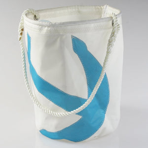 Sail Resale Jumbo Heritage Utility Blue Anchor Bucket Bag