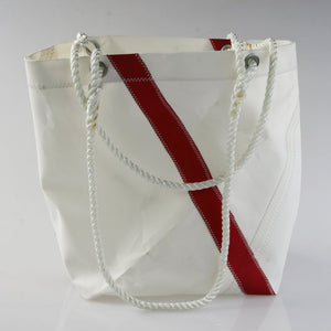 Sail Resale Medium Diagonal Stripe Heritage Carryall