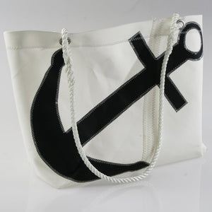 Sail Resale Large Heritage Black Anchor Carryall
