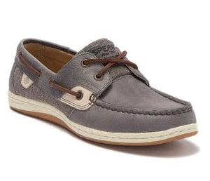 Sperry Women's Koifish Boat Shoe Sparkle Slate Grey