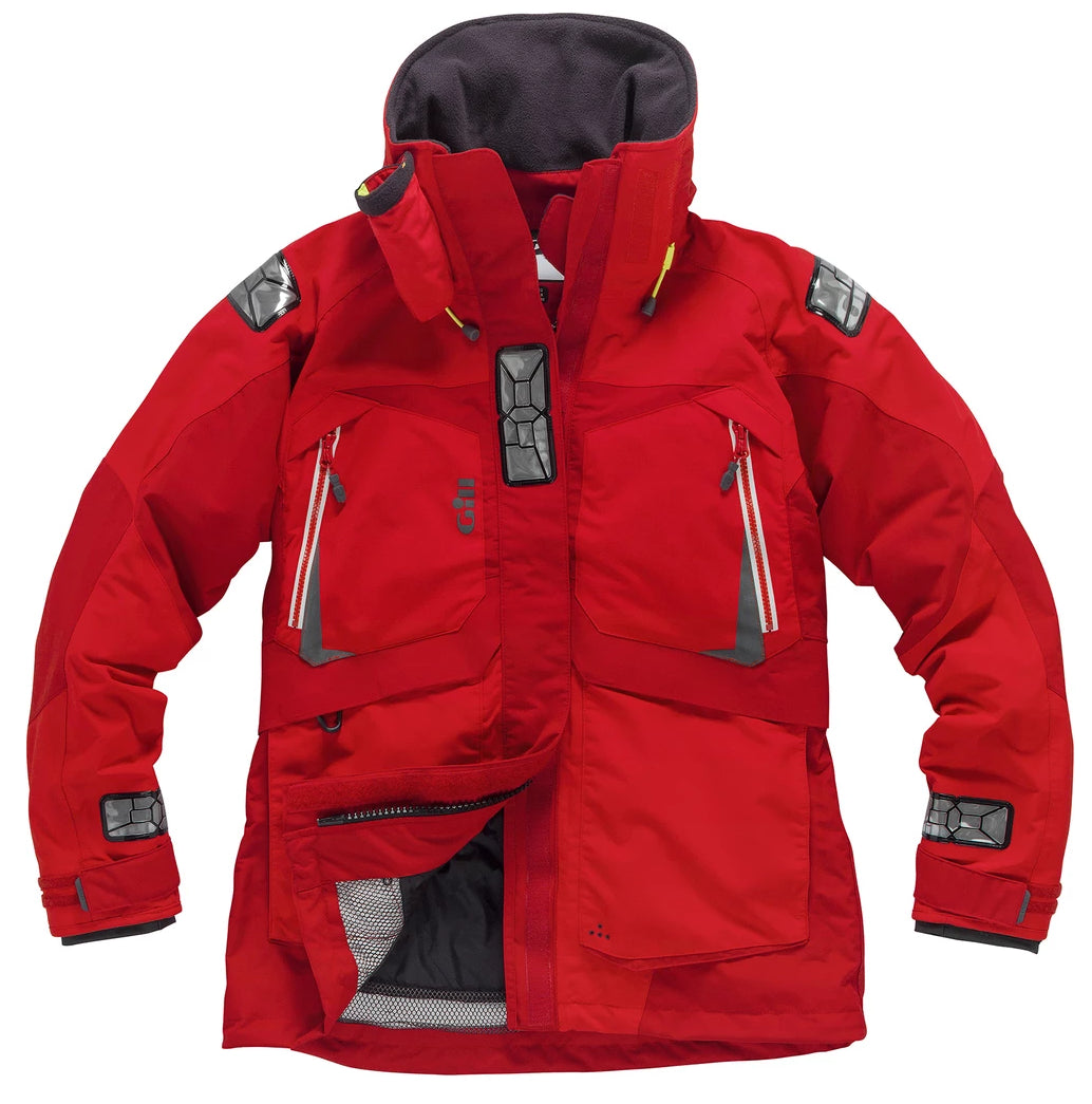 Gill Women's OS23 Jacket Red