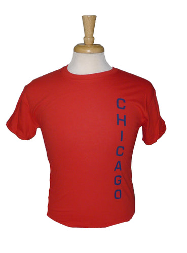 Gildan Chicago Matchcup Race T Shirt Red