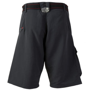 Gill Race Shorts with Belt Graphite