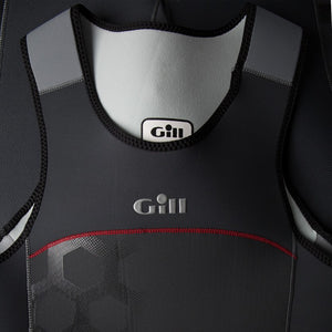 Gill Men's Race Firecell Skiff Suit Graphite