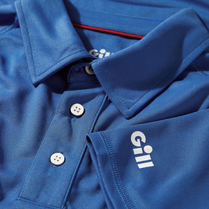Gill Men's UV Tec Polo Blue