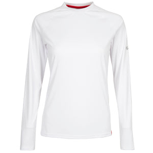 Gill Women's UV Tec L/S Tee White