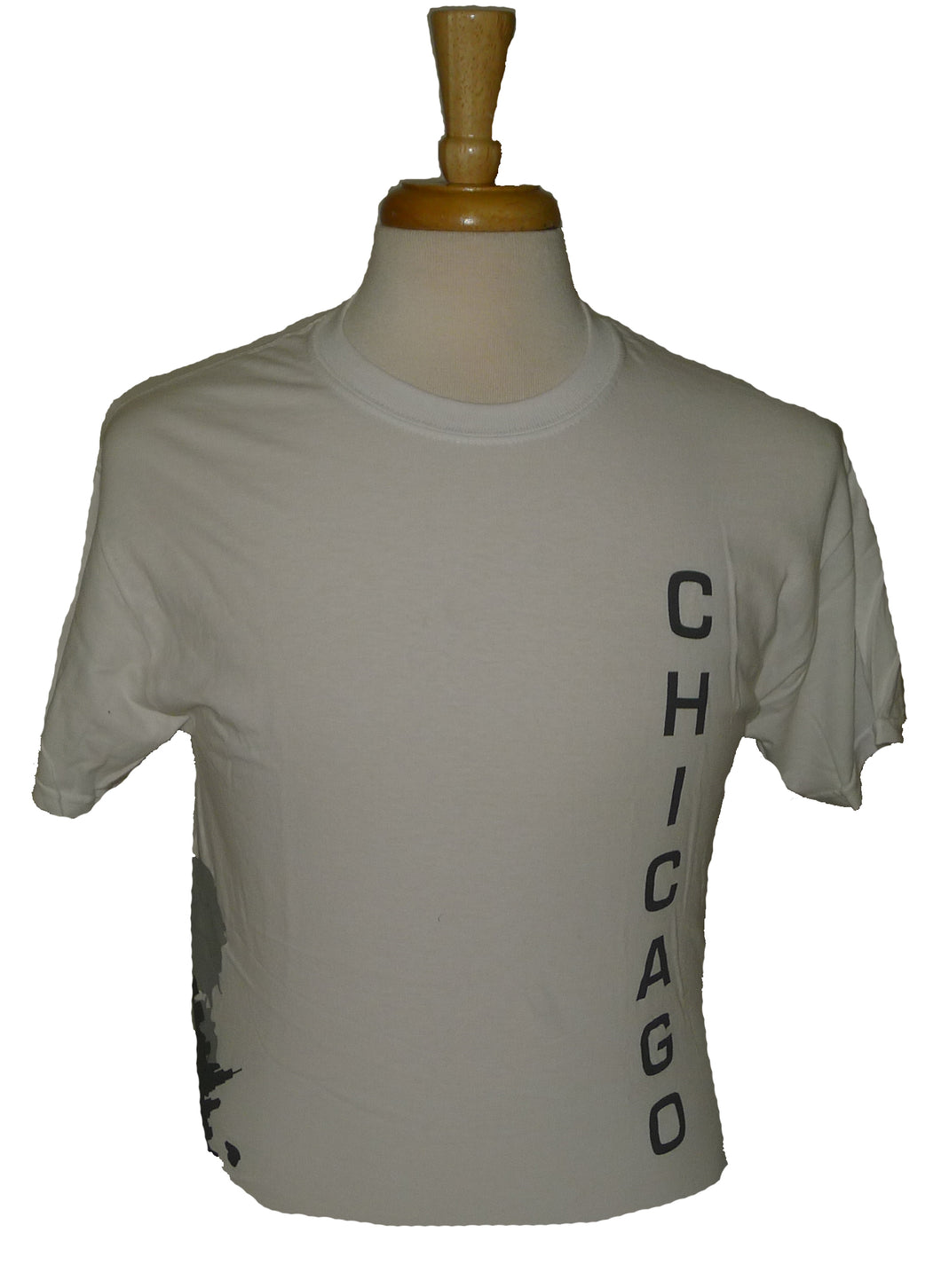 Gildan Chicago Matchcup Race T Shirt White/Grey