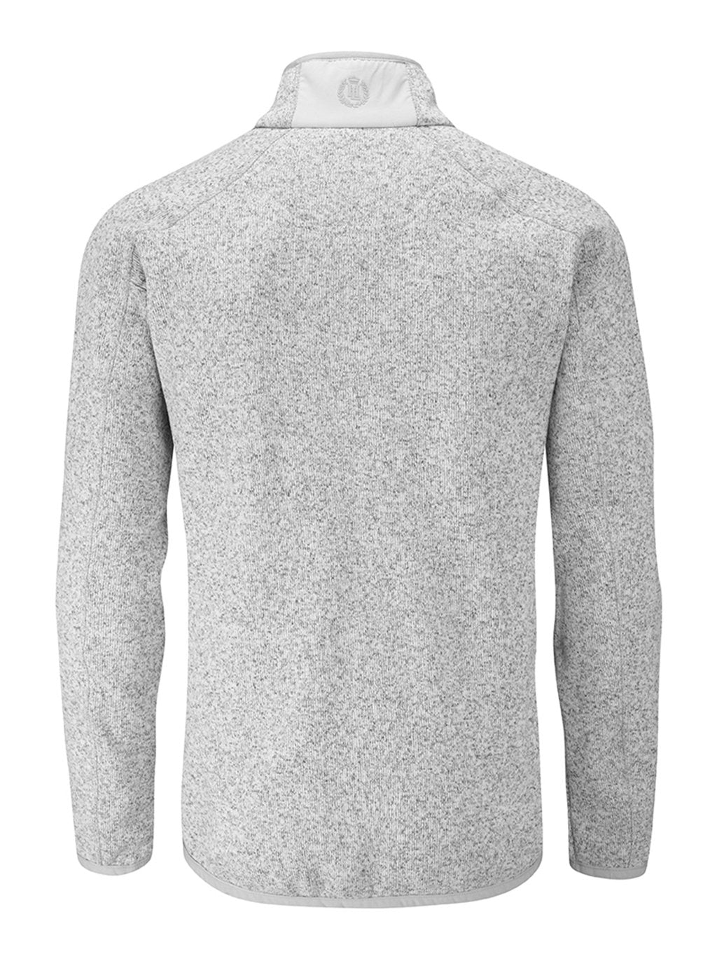 catch on feet shots of best quality Henri Lloyd Traverse Fleece Light Grey – Boating Closeout