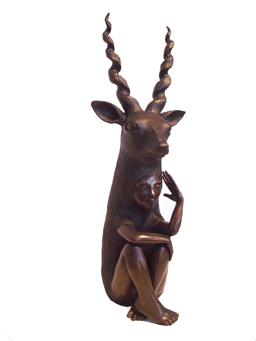 Bronze Blackbuck by Crystal Morey