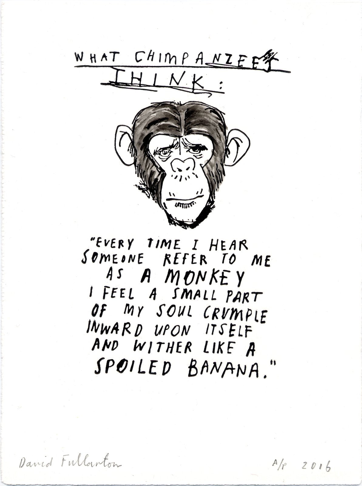 Chimp by David Fullarton