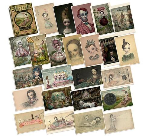 Mark Ryden's Gay 90's Portfolio Card Set