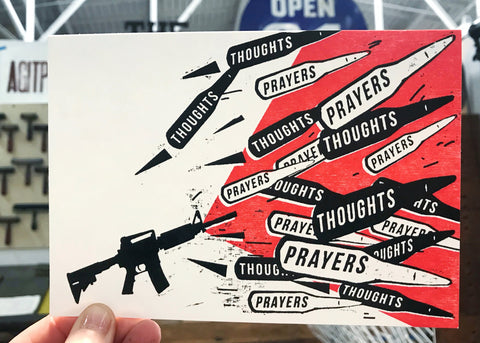 Thoughts and Prayers (pack of 5)
