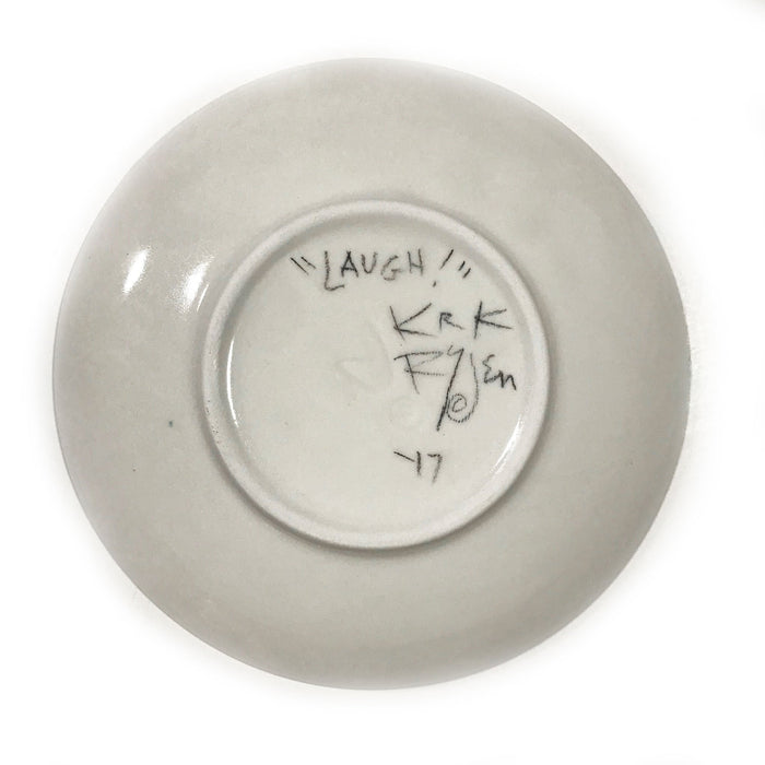 Laugh plate by KRK Ryden