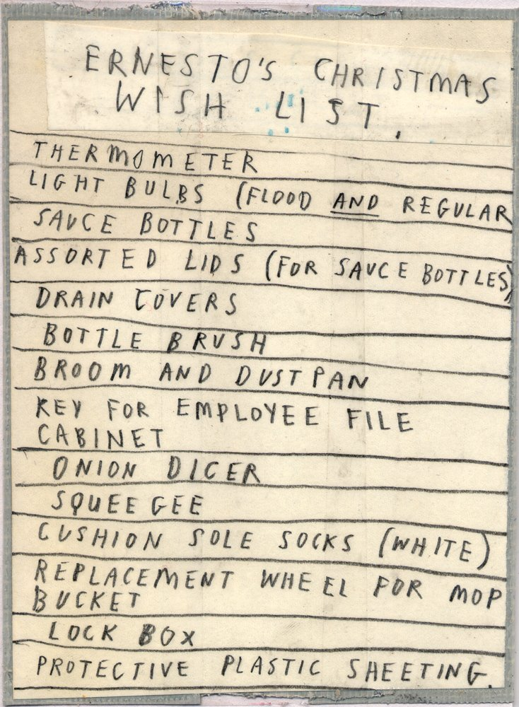 Wish List by David Fullarton
