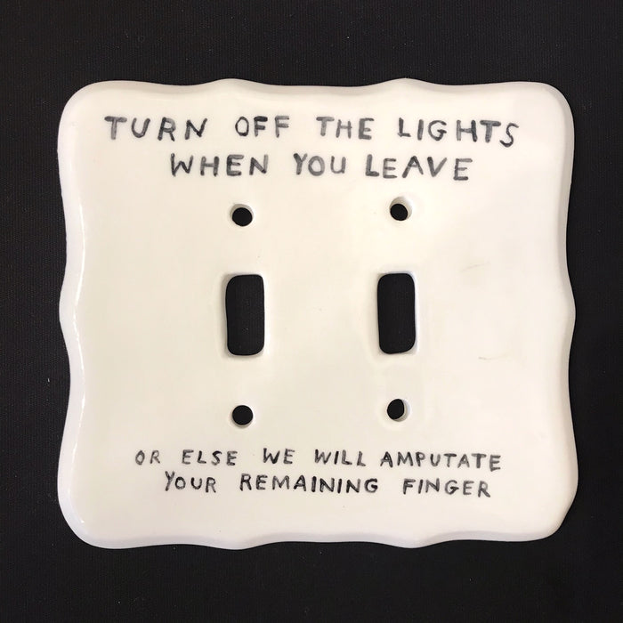 Turn of the lights...light switch by David Fullarton