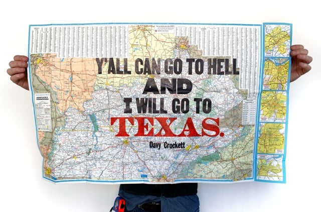 Go to Hell....Texas (Kentucky/Tennessee map)