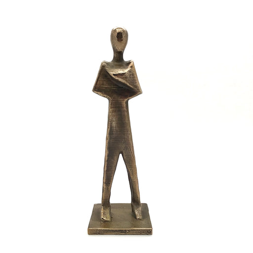 Standing figure bronze by Tyler James Hoare