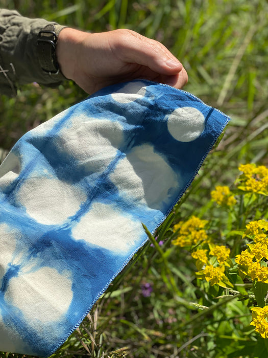 California Skies & Wildflowers Bandana