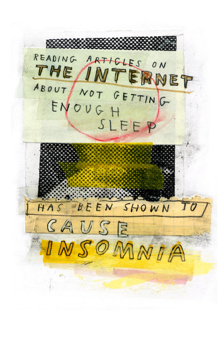 Do Not Go On The Internet zine