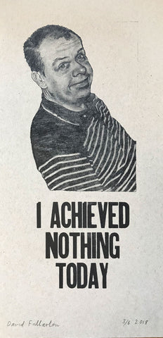 Achieved Nothing (Kraft) by David Fullarton