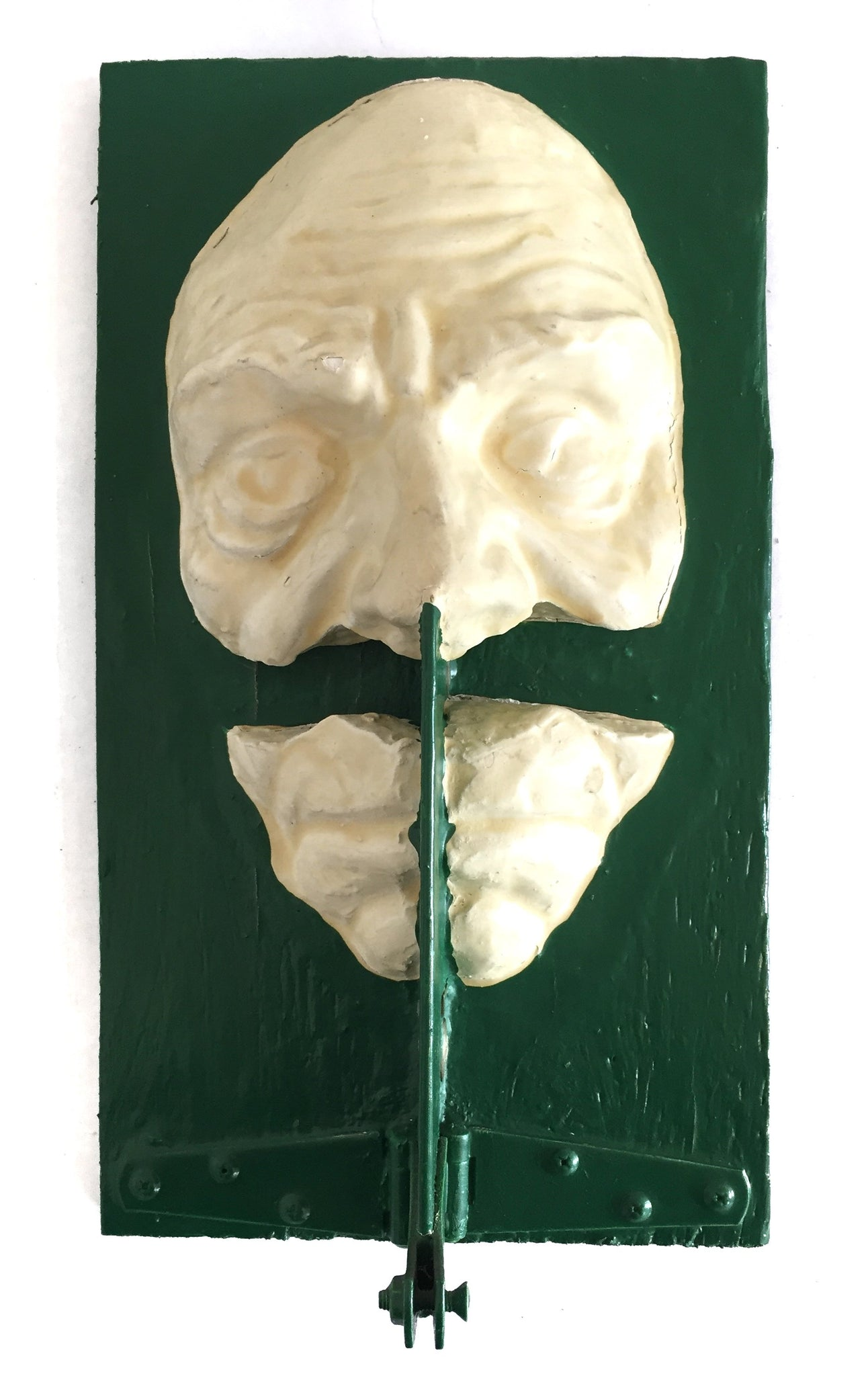 Green mask by Tyler James Hoare