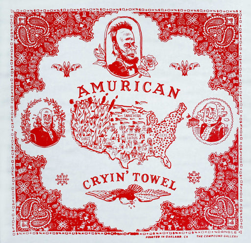 The Amurican Cryin' Towel bandana