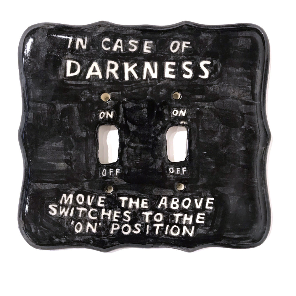 In Case of Darkness...light switch by David Fullarton