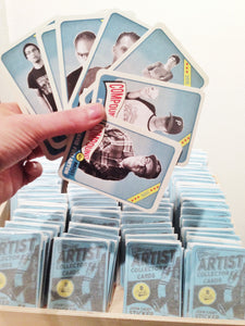 Compound Artist Collector Cards All Stars 2015