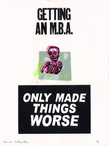 Death by MBA by David Fullarton