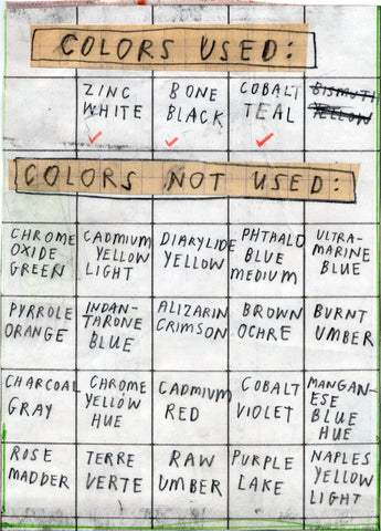 Colors List by David Fullarton