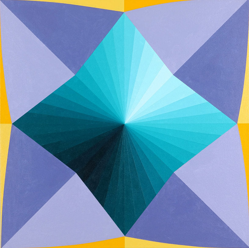 Paper Fortune Teller (teal, purple)