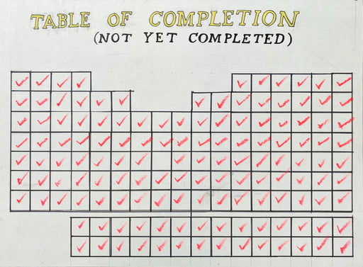 Table of Completion