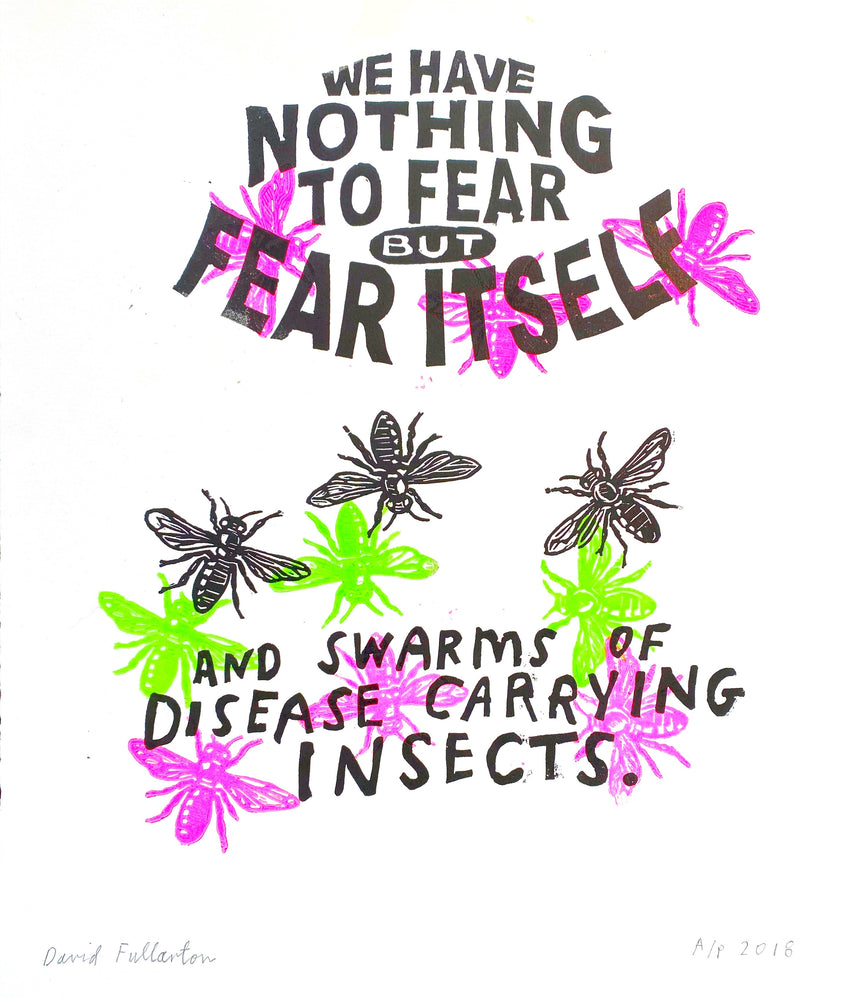 We have nothing to fear (green/pink)