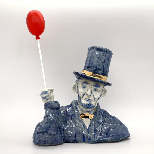 Lincoln and red balloon